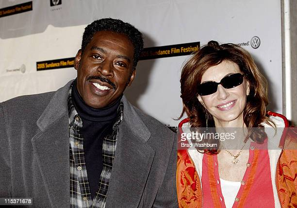 Ernie Hudson and Mary Steenburgen during 2005 Sundance Film Festival 'Marlyn Hotchkiss Ballroom Dancing and Charm School' Premiere at Park City in...