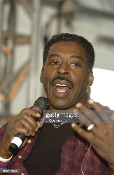 Ernie Hudson during 2005 Sundance Film Festival Creative Coalition Panel at Village at the Lift Tent in Park City Utah United States