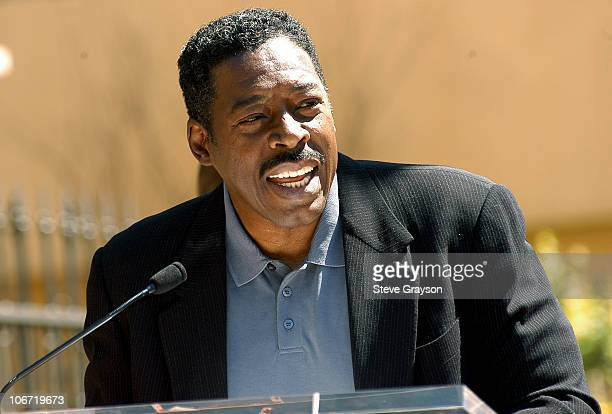 Ernie Hudson during Beau Bridges Honored with a Star on the Hollywood Walk of Fame for His Achievements in Film at Hollywood Boulevard in Hollywood...