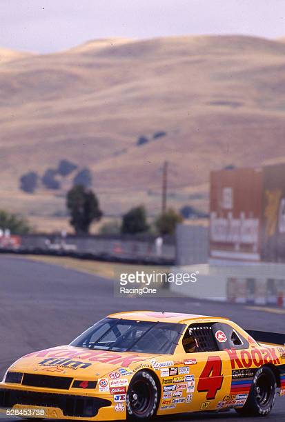 Ernie Irvan drove the No 4 Kodak Chevrolet to a NASCAR Sprint Cup Series victory in the Save Mart 300K roadcourse event at Sonoma Raceway on June 7...