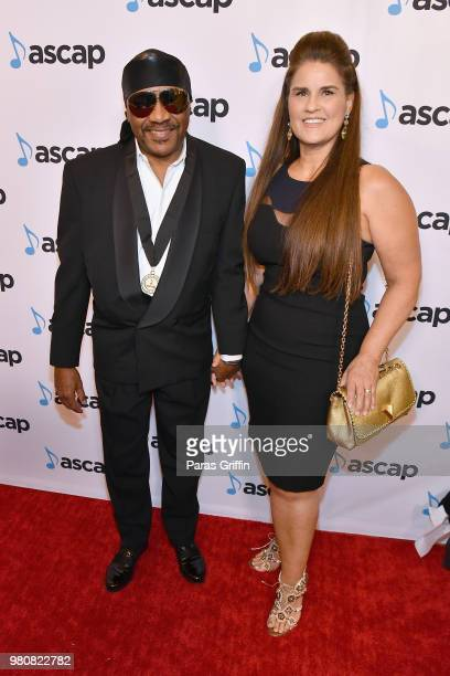 Ernie Isley and Tracy Isley attend the 31st Annual ASCAP Rhythm Soul Music Awards at the Beverly Wilshire Four Seasons Hotel on June 21 2018 in...