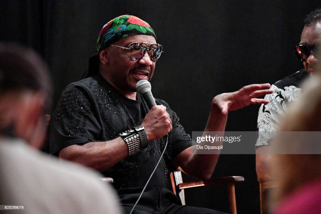 Ernie Isley attends the Santana and The Isley Brothers Media Event at Electric Lady Studio on August 1, 2017 in New York City.