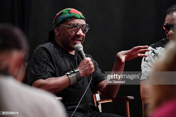 Ernie Isley attends the Santana and The Isley Brothers Media Event at Electric Lady Studio on August 1 2017 in New York City