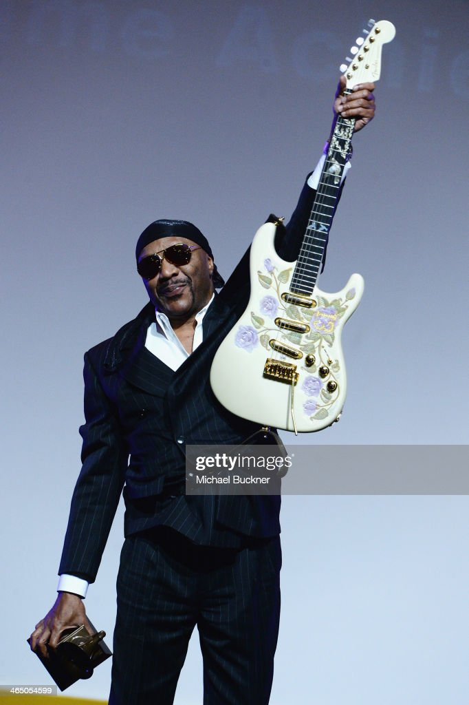 Ernie Isley onstage at the Special Merit Awards Ceremony as part of the 56th GRAMMY Awards on January 25, 2014 in Los Angeles, California.