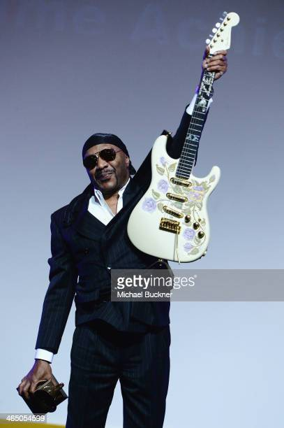 Ernie Isley onstage at the Special Merit Awards Ceremony as part of the 56th GRAMMY Awards on January 25 2014 in Los Angeles California