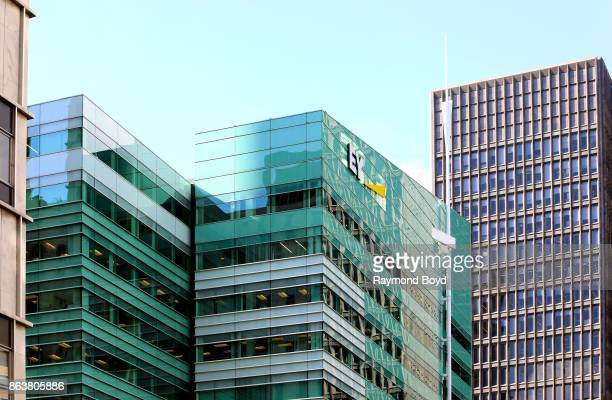Ernst and Young building in Detroit Michigan on October 13 2017