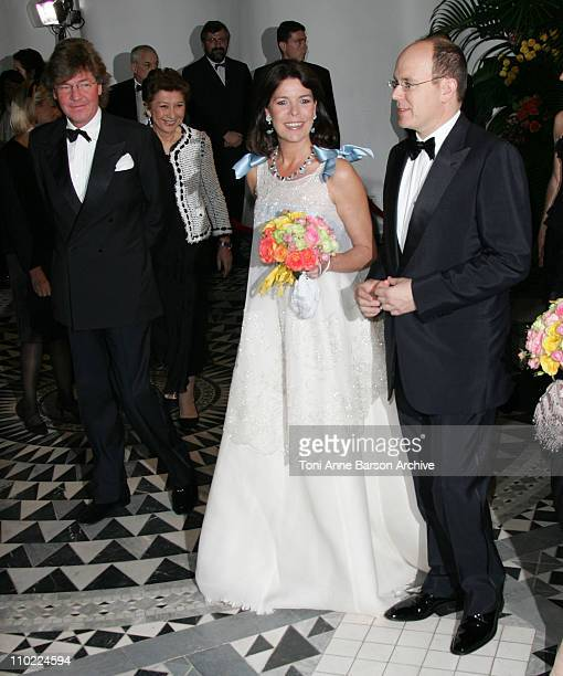 HSH Ernst August of Hanover HSH Caroline of Hanover and HSH Albert of Monaco