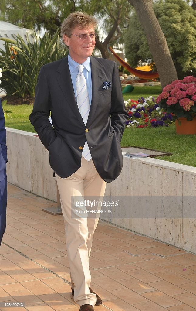 Princess Caroline of Hanover, Prince Albert II of Monaco and Ernst August of Hanover at the 42nd Annual Monaco Bouquet Contest in Monte Carlo, Monaco on May 09, 2009. : News Photo
