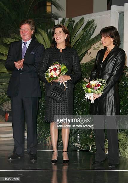 HSH Ernst August of Hanover Princess Caroline of Hanover and Princess Stephanie of Monaco