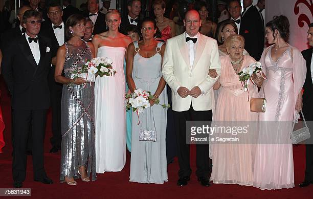 Ernst August of Hanover Princess Caroline of Hanover Charlene Wittstock Princess Stephanie of Monaco Prince Albert II of Monaco Princess Antoinette...
