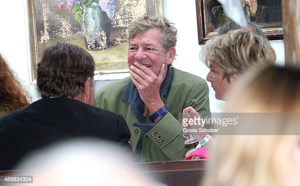 Ernst August von Hannover during the Oktoberfest Opening in Kaeferzelt at Theresienwiese on September 20 2014 in Munich Germany
