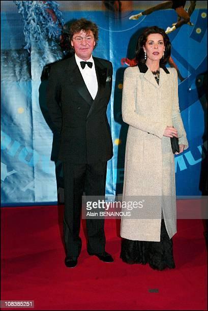 Ernst August von Hanover with wife Princess Caroline in Monaco on December 14 2002