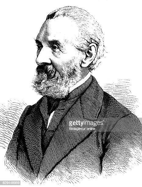 Ernst heinrich carl von dechen 1800 1899 a professor of mining engineering and inventor historical engraving about 1889