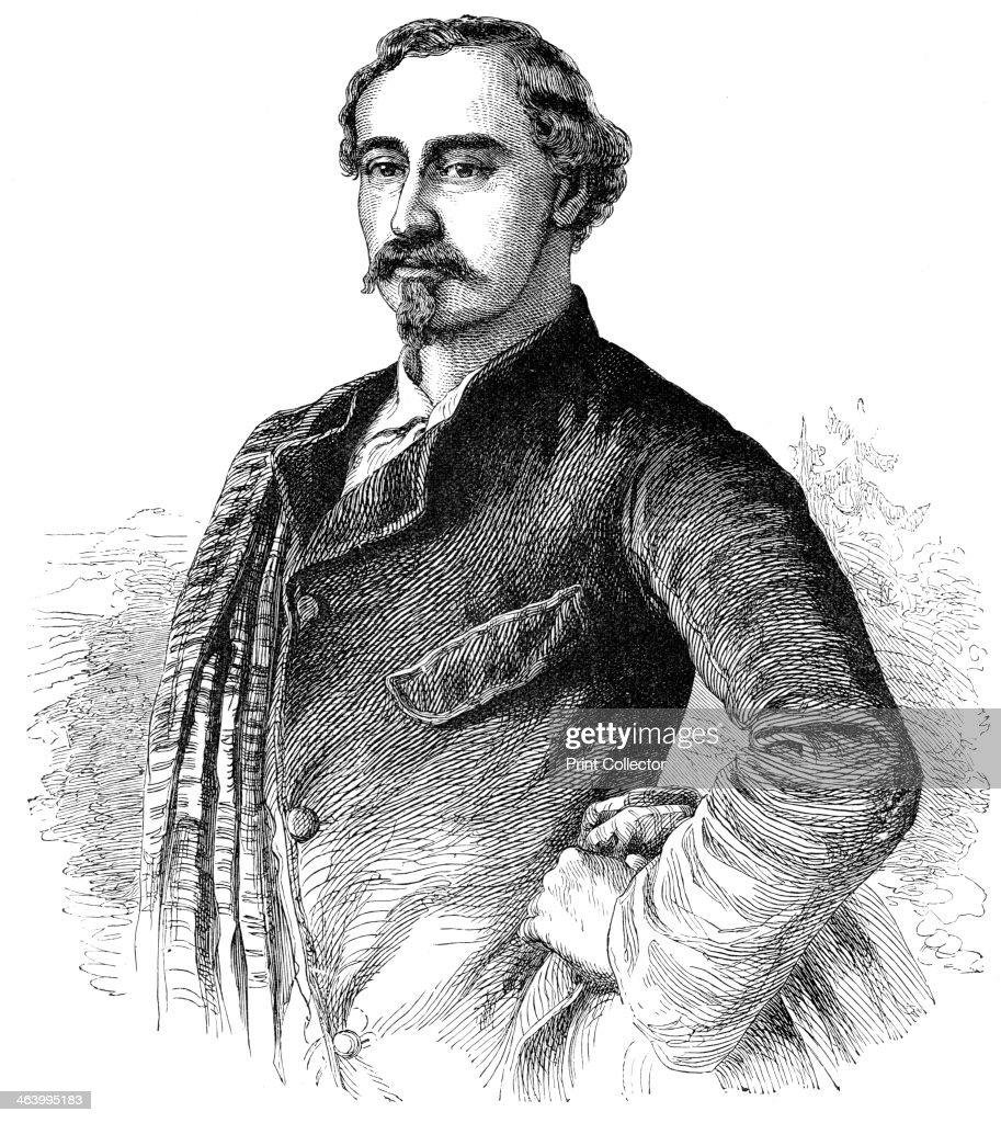 Duke Ernest of Saxo Coburg Gotha, 1900. : News Photo