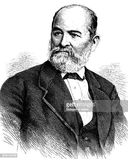 Ernst julius haehnel 1811 1891 a german sculptor and professor at the dresden academy of fine arts historical engraving about 1889