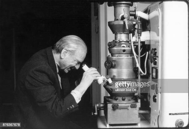 Ernst Ruska physicist designer of the first electron microscope