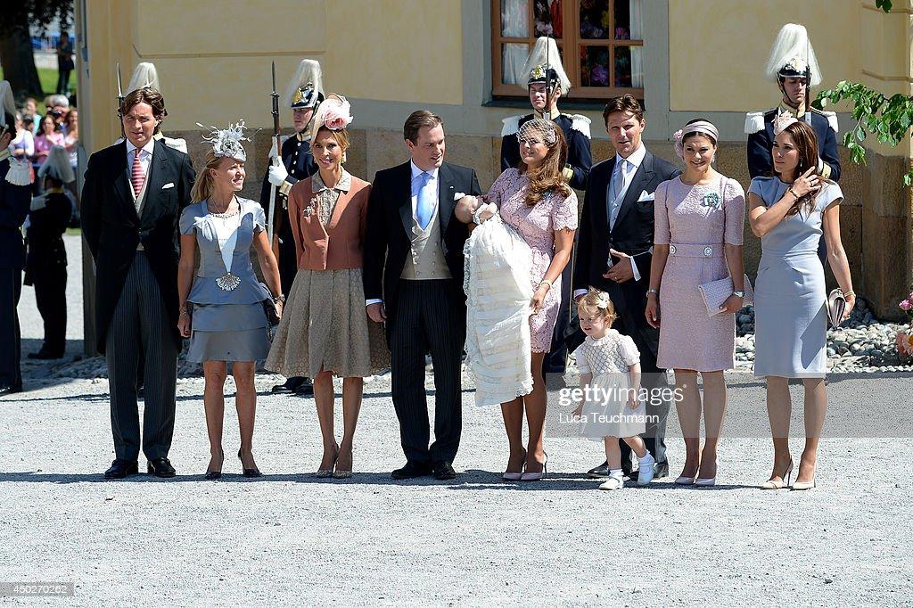 Princess Leonore's Royal Christening in Sweden : Fotografía de noticias