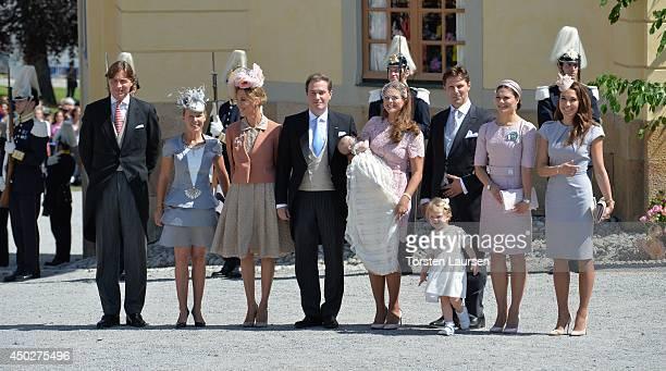 Ernst von Abensperg und Traun, Alice Bamford, Tatjana a'Abo, Christopher O'Neill, Princess Madeleine of Sweden, Princess Leonore, Duchess of Gotland,...