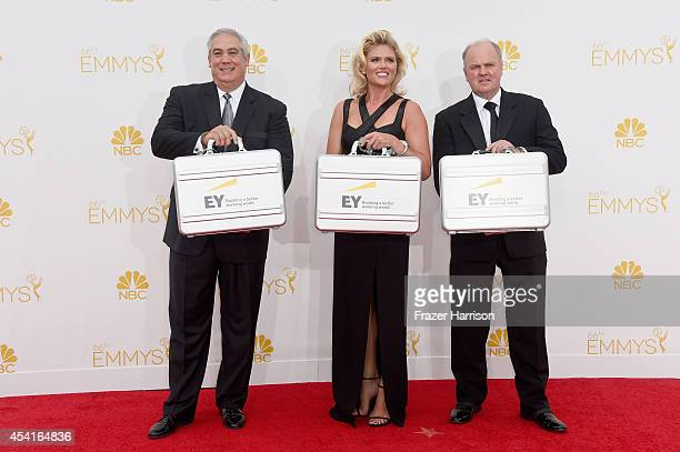 Ernst Young representatives attend the 66th Annual Primetime Emmy Awards held at Nokia Theatre LA Live on August 25 2014 in Los Angeles California