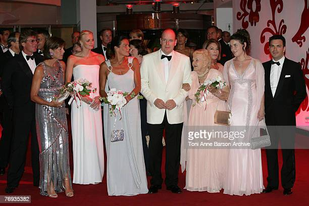 ErnstAugust of Hanover Princess Caroline of Hanover Charlene Wittstock HSH Princess Stphanie of Monaco HSH Prince Albert II of Monaco HSH Princess...