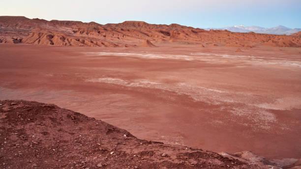 Eroded landscape in the Desierto del Diablo in the Los Colorados area, of Tolar Grande