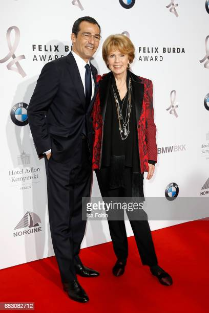 Erol Sander and Christa Maar attend the Felix Burda Award at Hotel Adlon on May 14 2017 in Berlin Germany
