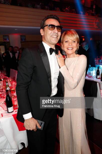 Erol Sander and Uschi Glas during the 46th German Film Ball at Hotel Bayerischer Hof on January 26 2019 in Munich Germany