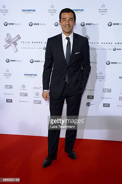 Erol Sander attends Felix Burda Award 2014 at Hotel Adlon on April 6 2014 in Berlin Germany