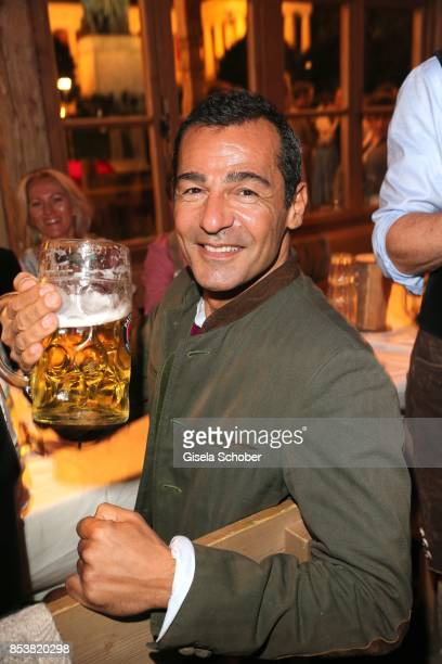 Erol Sander during the Oktoberfest at Kaeferzelt at Theresienwiese on September 25 2017 in Munich Germany