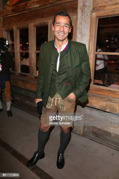 Erol Sander during the Oktoberfest at Theresienwiese on September 21 2017 in Munich Germany