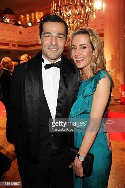 Erol Sander Mit Ehefrau Caroline Goddet Beim 38 Deutschen Filmball Im Hotel Bayerischer Hof In Mnchen