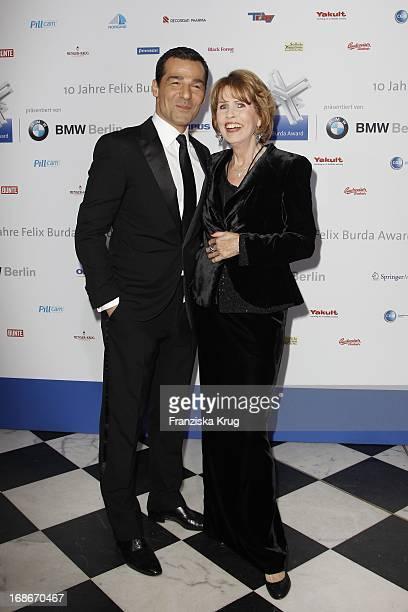 Erol Sander With Dr Christa Maar at the 10th Anniversary Of The Felix Burda Award at Hotel Adlon in Berlin