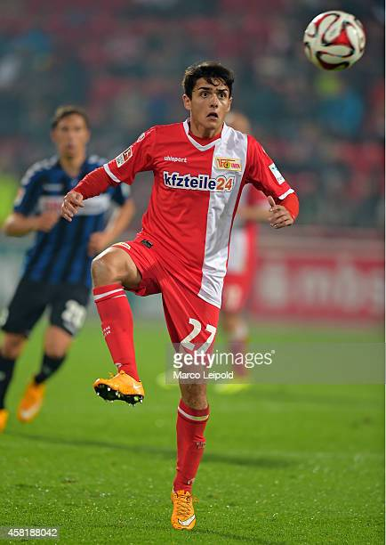 Eroll Zejnullahu of 1 FC Union Berlin during the game between 1FC Union Berlin and SpVgg Greuther Fuerth on October 31 2014 in Berlin Germany