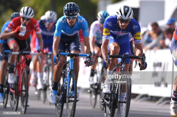 Eros Capecchi of Italy and Team QuickStep Floors / during the 9th Grand Prix Cycliste de Montreal 2018 a 1952km race from Montreal to Montreal 79m /...