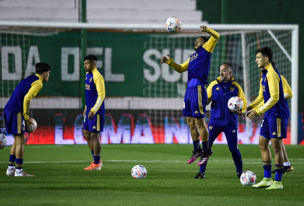 ARG: Banfield v Boca Juniors - Torneo Liga Profesional 2021