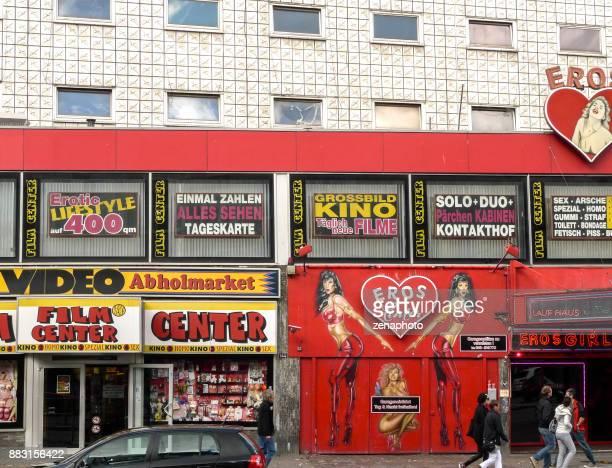 Eros night club Reeperbahn Hamburg