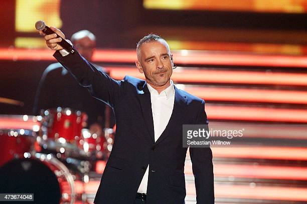 Eros Ramazzotti during the television show 'Willkommen bei Carmen Nebel' on May 16 2015 in Magdeburg Germany
