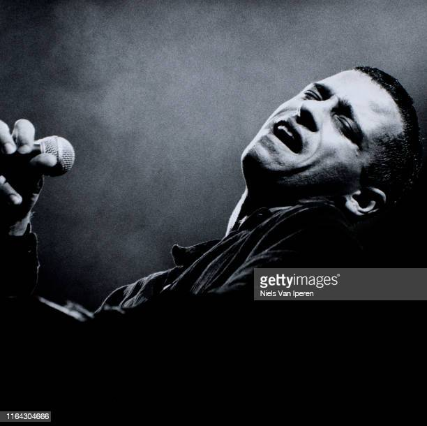 Eros Ramazzotti performing on stage Ahoy Rotterdam Netherlands 24th October 1993