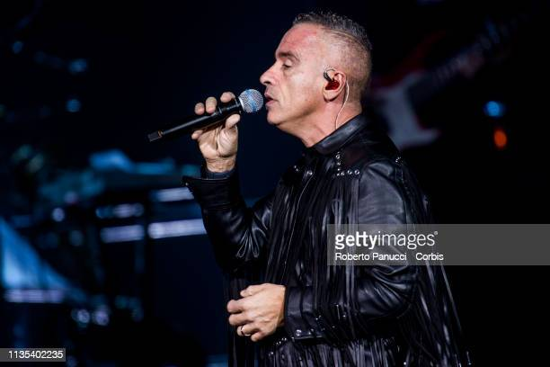 Eros Ramazzotti Performs in Concert on March 12 2019 in Rome Italy