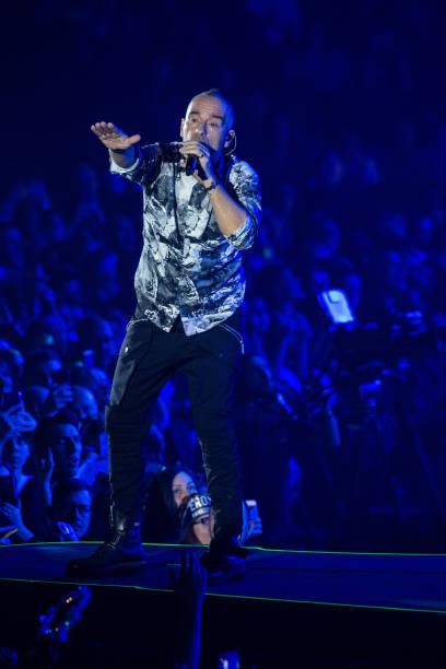 ITA: Eros Ramazzotti Performs In Eboli