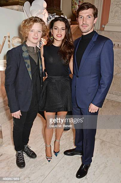Eros Vlahos Melia Kreiling and Gwilym Lee attend the InStyle Best of British Talent party in celebration of BAFTA in association with Lancome and Sky...