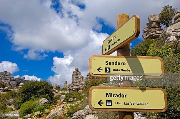 Erosion working on Jurassic limestones Torcal de Antequera Malaga province Andalusia Spain