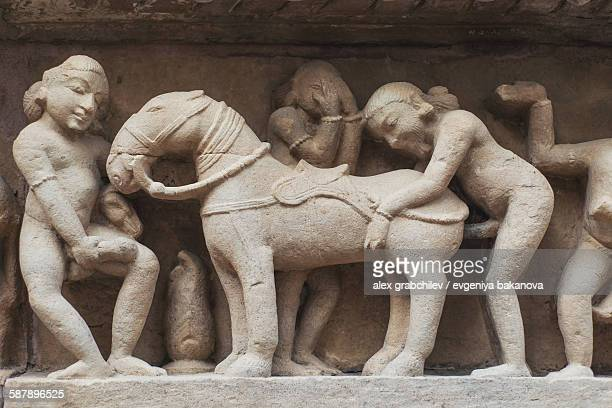 Erotic Depictions At Indian Temples