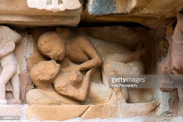Erotic sculpture, Khajuraho