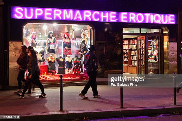 CONTENT] Erotic supermarket at Boulevard de Clichy Montmartre France