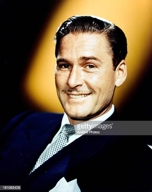 Errol Flynn in publicity portrait for the film 'Never Say Goodbye' 1946