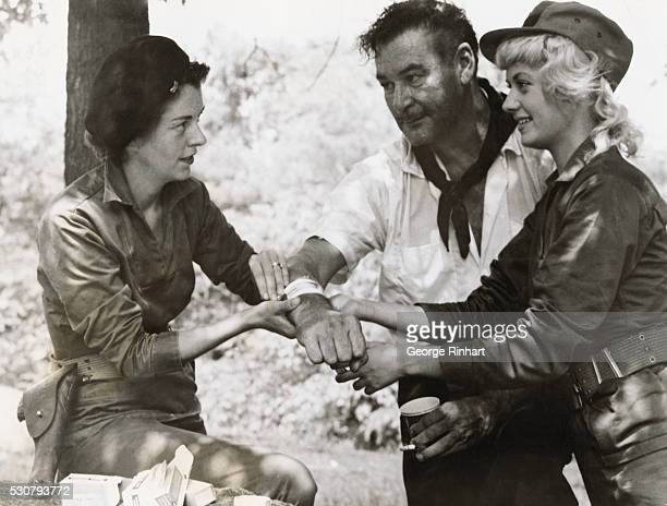 Errol Flynn made a last film with his last protege blonde Beverly Aadland at right The 1959 film was entitled Cuban Rebel Girls The film was produced...