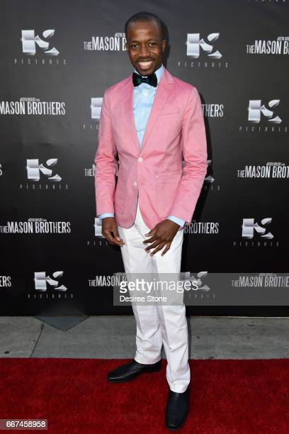 """Errol Webber attends the premiere of """"The Mason Brothers"""" at the Egyptian Theatre on April 11, 2017 in Hollywood, California."""