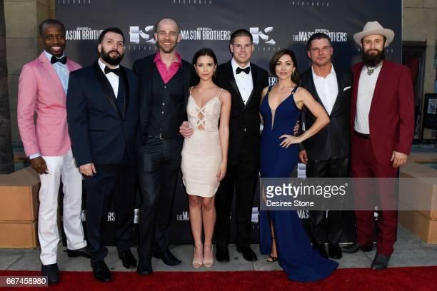 Errol Webber, David Trevino, Brandon Sean Pearson, Erica Souza, Keith Sutliff, Carlotta Montanari, Michael Whelan, and Matt Webb attend the premiere...