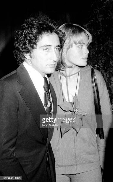 """Errol Wetson and Margaux Hemingway attend """"The Towering Inferno"""" Premiere Party at the Four Seasons Hotel in New York City on December 18, 1974."""
